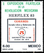 Mexico 1983 Herfilex unmounted mint.