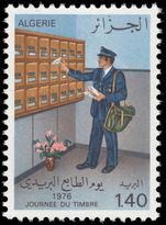 Algeria 1976 Stamp Day unmounted mint.