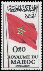Morocco 1963 Evacuation of Foreign Troops unmounted mint.