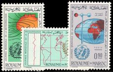 Morocco 1964 World Meteorological Day unmounted mint.