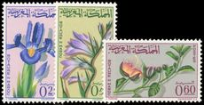 Morocco 1965 Flowers unmounted mint.