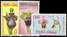Morocco 1965 Orchids unmounted mint.