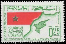 Morocco 1966 Independence Anniversary unmounted mint.