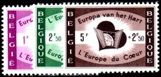 Belgium 1959 Heart of Europe unmounted mint.