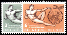 Belgium 1962 The Rights of Man unmounted mint.
