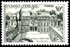 France 1959 30fr Palais de l'Elysee unmounted mint.