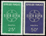 France 1959 Europa unmounted mint.