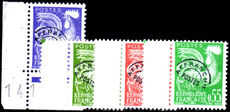 France 1960 Pre-cancel set full gum unmounted mint.