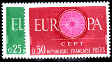 France 1960 Europa unmounted mint.