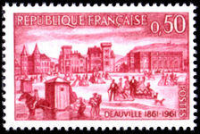 France 1961 Deauville unmounted mint.