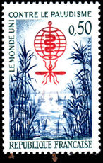 France 1962 Malaria unmounted mint.