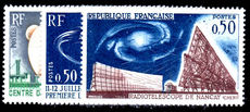 France 1962 Telecommunications Satellite Link unmounted mint.