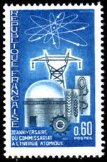 France 1965 Atomic Energy Commission unmounted mint.
