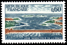France 1966 Tidal Power Station unmounted mint.
