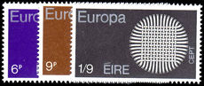 Ireland 1970 Europa unmounted mint.