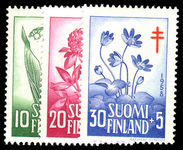 Finland 1958 Tuberculosis Relief Fund unmounted mint.