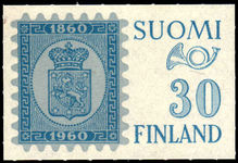 Finland 1960 Stamp Exhibition Helsinki unmounted mint.