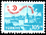 Turkey 1959 15th International T.B. Conference unmounted mint.