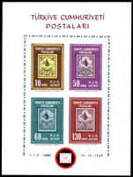 Turkey 1963 Istanbul stampex souvenir sheet unmounted mint.