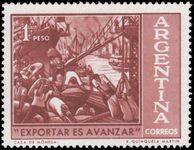 Argentina 1961 Export Campaign unmounted mint.