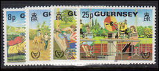 Guernsey 1981 International Year for Disabled Persons unmounted mint.