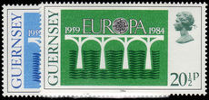 Guernsey 1984 Europa unmounted mint.