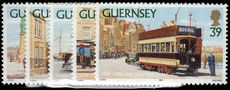 Guernsey 1992 Guernsey Trams unmounted mint.