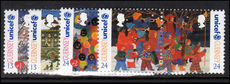 Guernsey 1995 Christmas. 50th Anniv of U.N.I.C.E.F. unmounted mint.