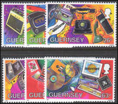 Guernsey 1997 Methods of Communication unmounted mint.