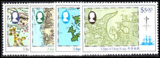 Hong Kong 1984 Maps unmounted mint.