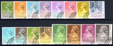 Hong Kong 1989-91 set of 1991 imprint values fine used.