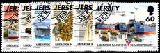 Jersey 1995 50th Anniv of Liberation fine used.