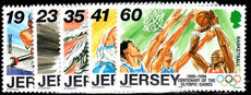 Jersey 1996 Sporting Anniversaries unmounted mint.
