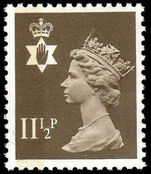 Northern Ireland 1971-93 11½p drab Questa Litho unmounted mint.