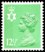 Northern Ireland 1971-93 12½p light emerald perf 15x14 Questa Litho unmounted mint.