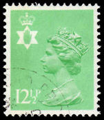 Northern Ireland 1971-93 12½p light emerald Questa Litho fine used.