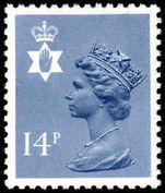 Northern Ireland 1971-93 14p Grey-blue Questa Litho unmounted mint.