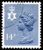 Northern Ireland 1971-93 14p Grey-blue Questa Litho fine used.
