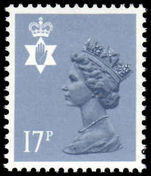 Northern Ireland 1971-93 17p grey-blue type II Questa Litho unmounted mint.