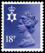 Northern Ireland 1971-93 18p deep violet Questa Litho unmounted mint.