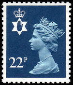 Northern Ireland 1971-93 22p blue Questa Litho unmounted mint.