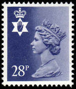 Northern Ireland 1971-93 28p deep violet blue perf 15x14 Questa Litho unmounted mint.