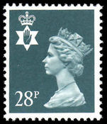 Northern Ireland 1971-93 28p deep bluish grey Questa Litho unmounted mint.