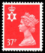 Northern Ireland 1971-93 37p rosine Questa Litho unmounted mint.