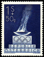 Austria 1948 Olympic Fund unmounted mint.
