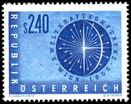 Austria 1956 World Power Conference unmounted mint.