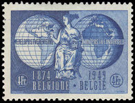Belgium 1949 75th Anniv of U.P.U. unmounted mint.