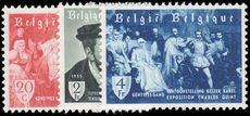 Belgium 1955 Emperor Charles V Exhibition Ghent unmounted mint.