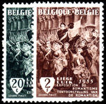 Belgium 1955 125th Anniv of 1830 Revolution unmounted mint.