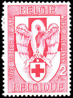 Belgium 1956 Blood Donors unmounted mint.